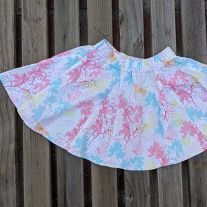 Zutano Collectables girls floral skirt size 3